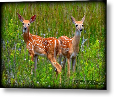 Family Metal Print by Terri K Designs