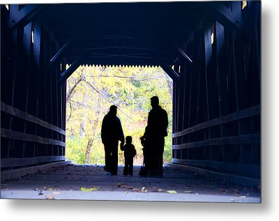 Family Time Metal Print by Bill Cannon