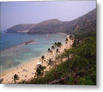 Famous Beach In Hawaii Metal Print