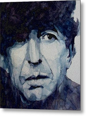Famous Blue Raincoat Metal Print