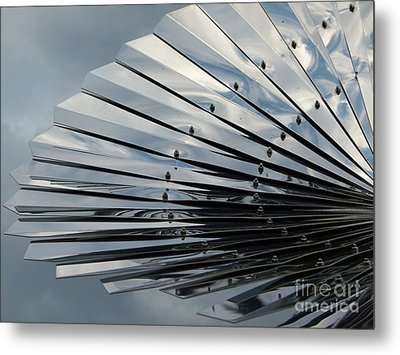 Fan In The Sky Metal Print