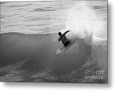 Metal Print featuring the photograph Fan Spray by Paul Topp