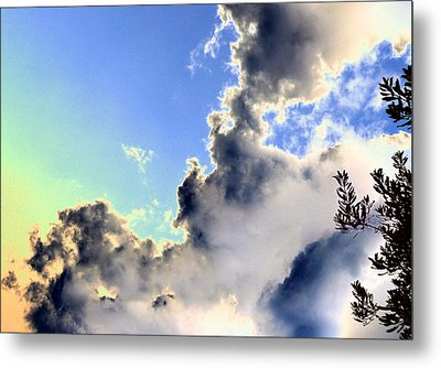 Metal Print featuring the photograph Fanciful Sky by Jim Whalen