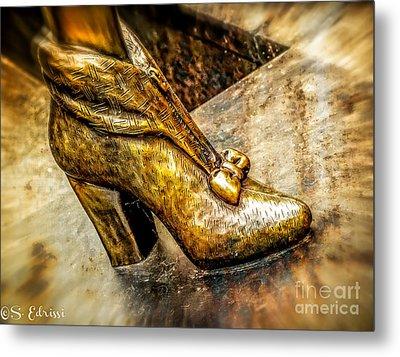Fancy Shoe Metal Print by Sabine Edrissi