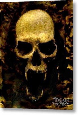 Fangs Metal Print by Tom Straub