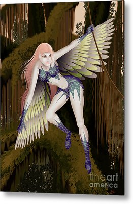 Fantasy Fairy2 Metal Print by Kriss Orayan