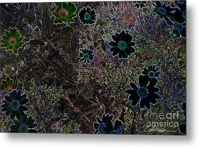 Fantasy Garden No. 1 Metal Print by Cathy Peterson