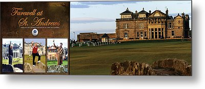 Farewell At St. Andrews Metal Print by Retro Images Archive