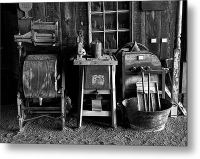 Farm Antiques Metal Print