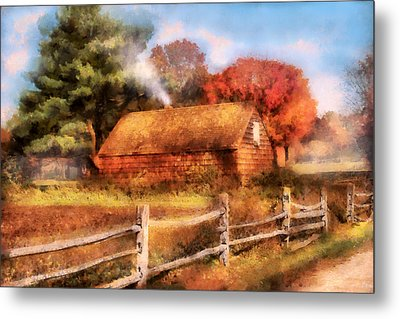 Farm - Barn - Our Cabin Metal Print