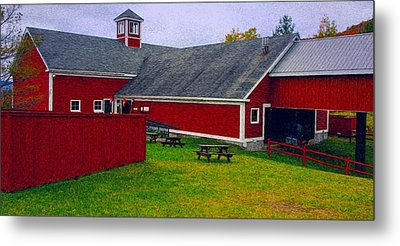 Farm Metal Print by Bill Howard