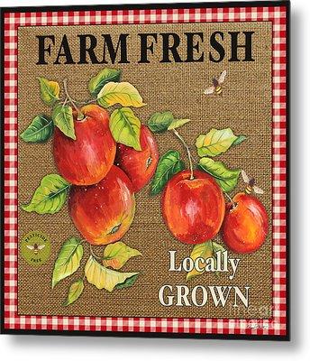Farm Fresh-jp2380 Metal Print by Jean Plout