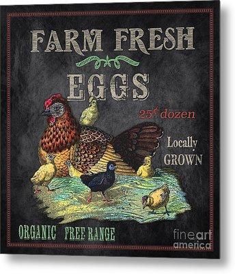 Farm Fresh-jp2636 Metal Print by Jean Plout