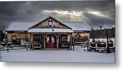 Farmers Inn Outpost Metal Print by Anthony Thomas