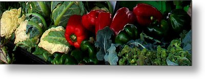 Farmer's Market 1 Metal Print by Dana Patterson