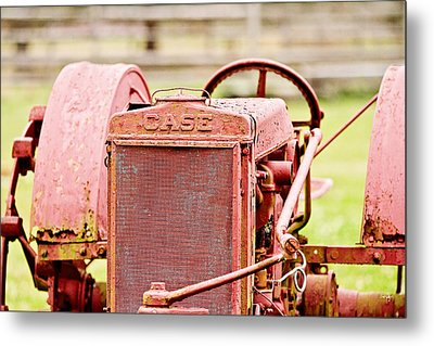 Farming Relic Metal Print by Scott Pellegrin