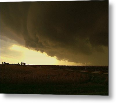 Farmland Fury Metal Print