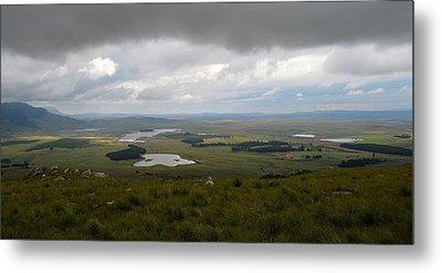 Farms - Drakensberg Range - South Africa Metal Print