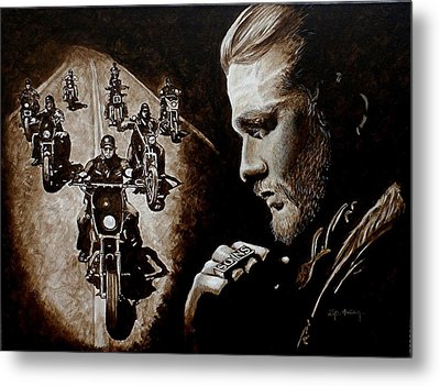 Farewell To The Outlaw Metal Print by Al  Molina