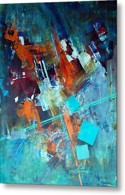 Fascination Metal Print by Ron Stephens