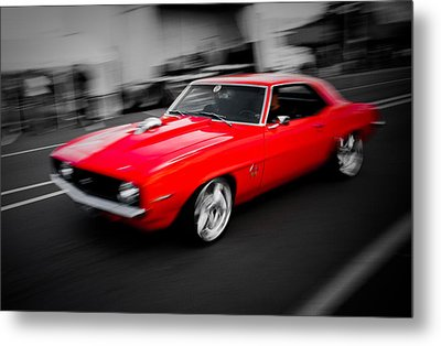 Fast Camaro Metal Print by Phil 'motography' Clark