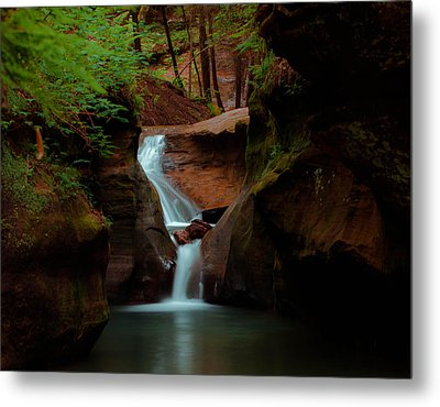 Fast Flowing Metal Print by Haren Images- Kriss Haren