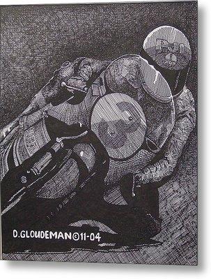 Faster Metal Print by Denis Gloudeman