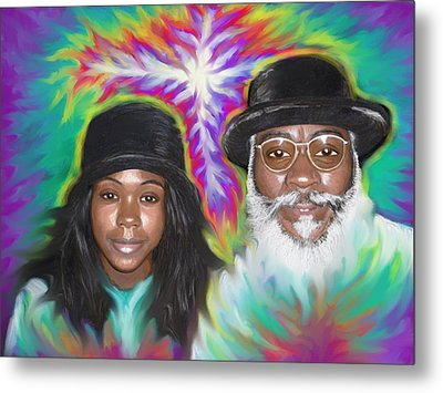 Father And Daughter Spirit Ministry  Metal Print