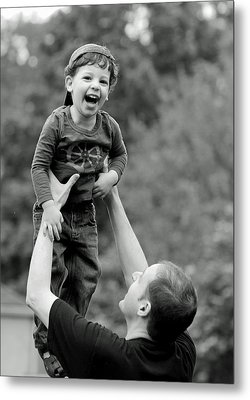 Father And Son IIi Metal Print by Lisa Phillips