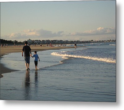 Father And Son Metal Print by Melissa McCrann