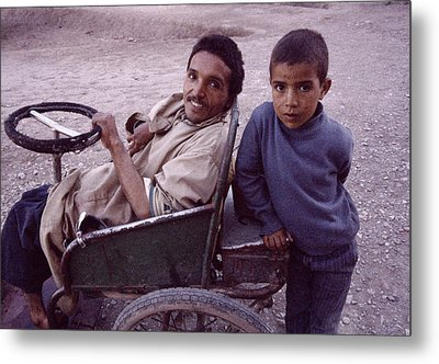 Father And Son Metal Print by Shaun Higson