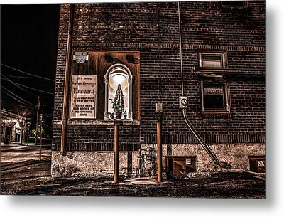 Father Conroy's Vinyard Of Hope Metal Print by Ray Congrove