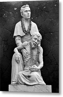 Father Damien Of Molokai Metal Print by Karon Melillo DeVega