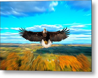 Father Restore Our Land Metal Print by Randall Branham