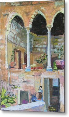 Fauzi Azar Mansion Metal Print by Linda Novick