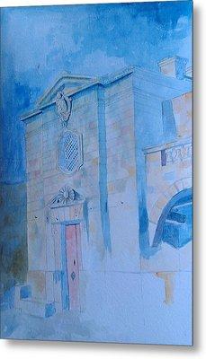 Fawwara Chapel Metal Print by Ray Agius
