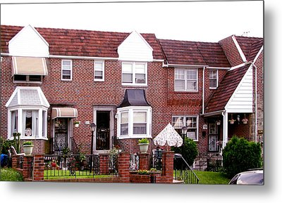 Metal Print featuring the photograph Fayette Street by Christopher Woods