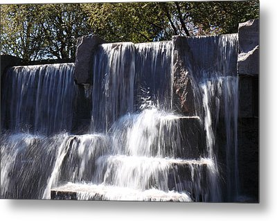 Fdr Memorial - Washington Dc - 01131 Metal Print by DC Photographer