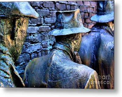 Metal Print featuring the photograph Franklin Roosevelt   Memorial Washington Dc by John S