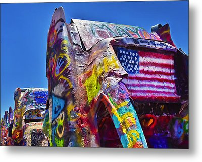 Fear And Loathing Metal Print by Skip Hunt