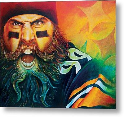 Fear Da Beard Metal Print
