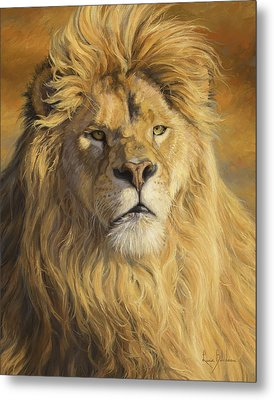 Fearless - Detail Metal Print by Lucie Bilodeau