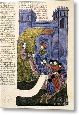 Feast Of Purim, 1430 Artwork Metal Print by Patrick Landmann