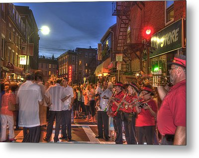 Feast Of Saint Anthony - Boston North End Metal Print by Joann Vitali