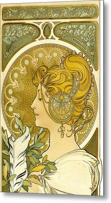 Feather 1899 Metal Print by Padre Art