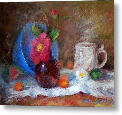 Featured Blue Bowl   Metal Print
