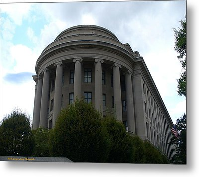 Federal Trade Commission Metal Print by Lingfai Leung