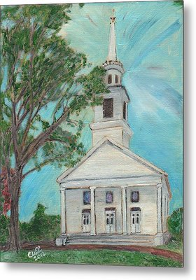 Federated Church Metal Print