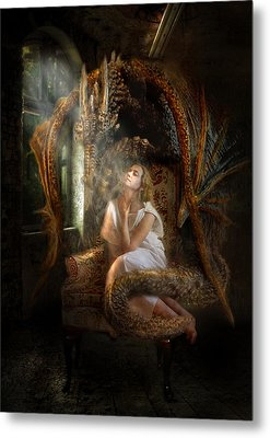 Feeding The Soul  Metal Print by Trudi Simmonds
