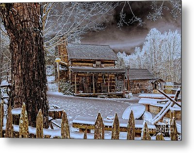 Metal Print featuring the photograph Feel The Warmth by Brenda Bostic
